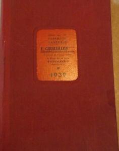 Romorantin, Agenda 1939 Y6hg5vmz-07155549-205776786