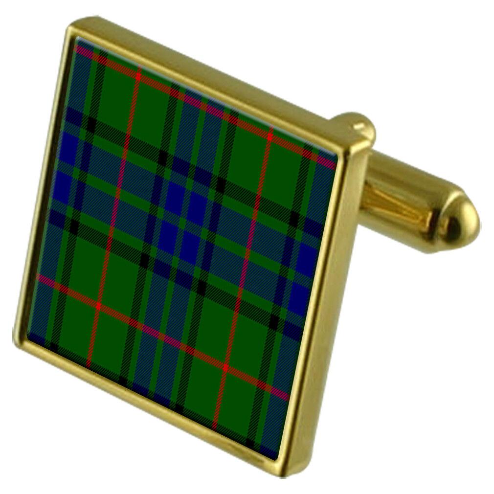 Tartan Tartan Tartan Clan Lauder oro Gemelli 14168f