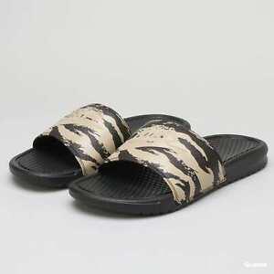Nike Flip Flops Benassi JDI Camo Khaki