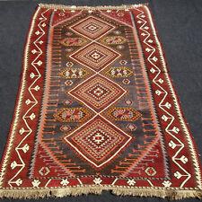 Antiker Orient Teppich 330 x 190 cm Kelim Kazak Antique Old Caucasian Rug Kilim