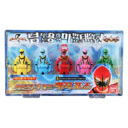 Bandai Power Rangers Ranger Key Set Magic Force Figures Toy for Children/_Ec