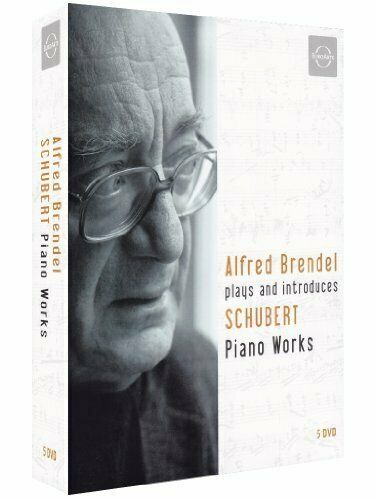 Alfred Brendel Plays & Introduces Late Schubert Piano Works boxset [DVD] [2007]