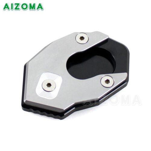 Aluminum Kickstand Plate Kick Stand Pad Protector For Kawasaki Z900 Z650 2017