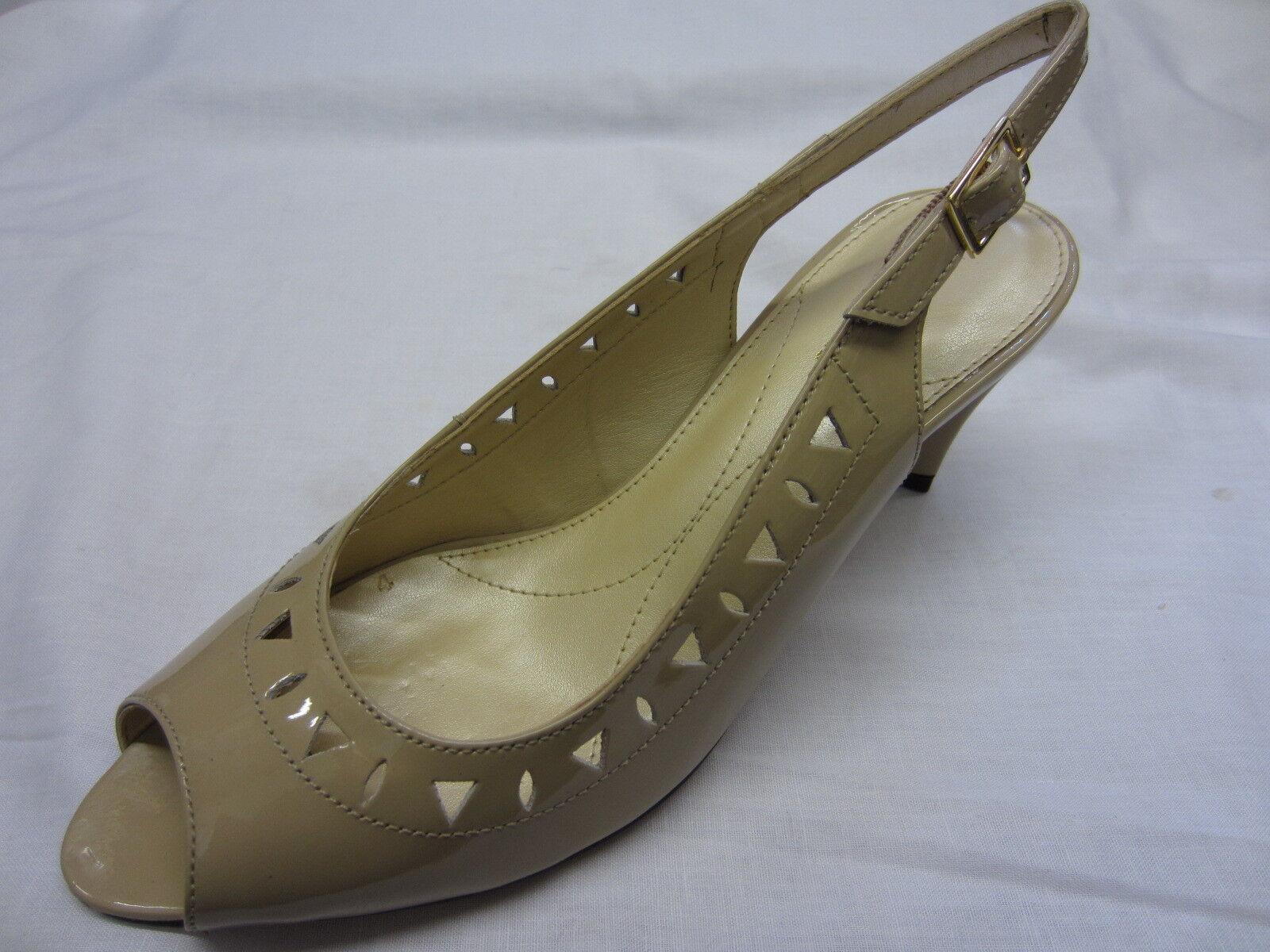Ladies Van Dal shoes Nude Patent Leather 'Selma'