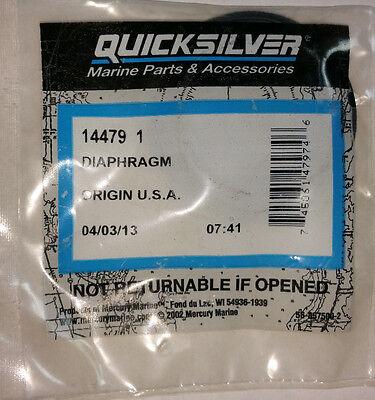 New Mercury Mercruiser Quicksilver OEM Part # 31503A 1 DIAPHRAGM
