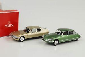 citroen 1970 1972 ds 23 pallas gr n sm gold 2 pcs set. Black Bedroom Furniture Sets. Home Design Ideas