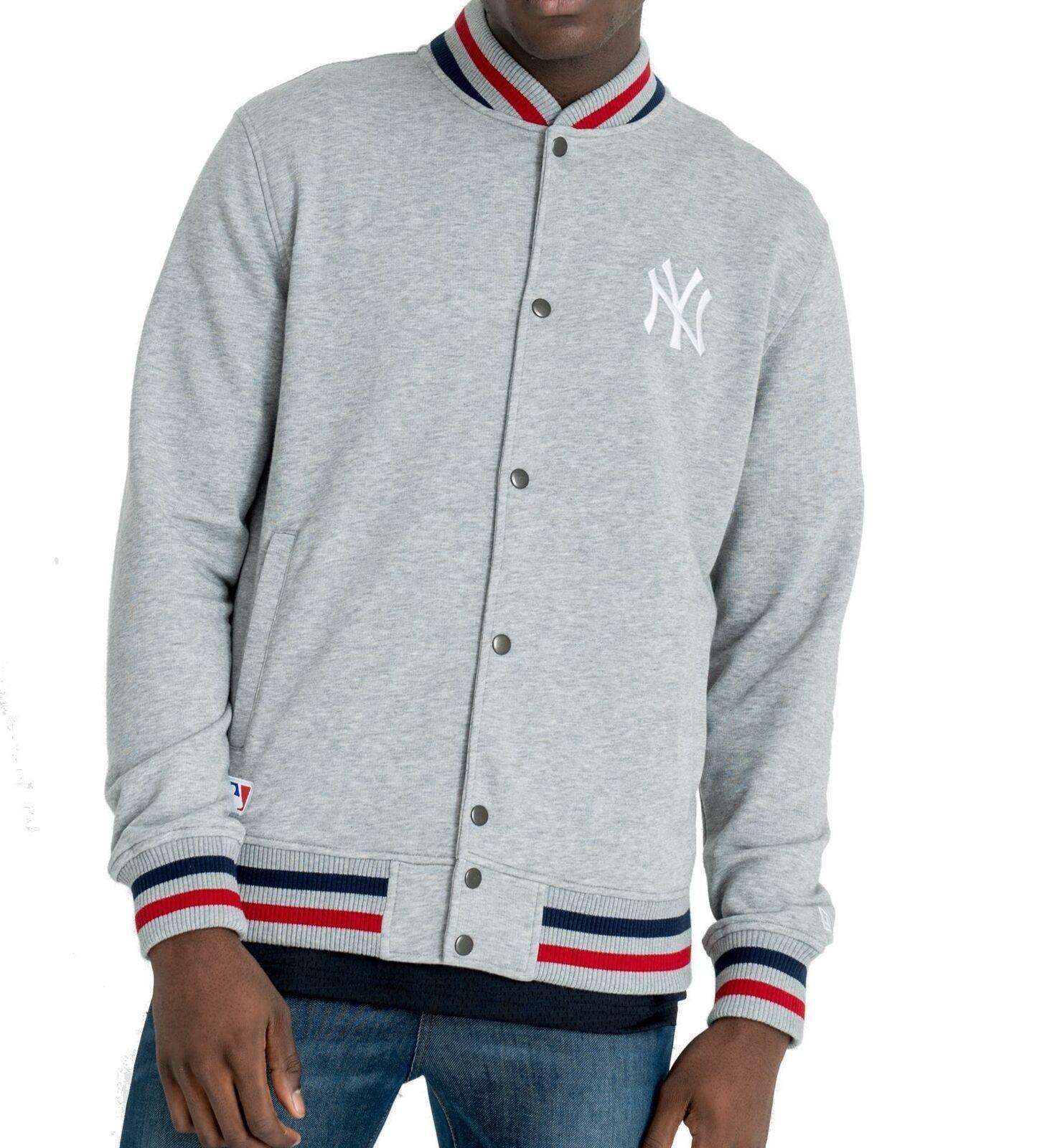 New Era Varsity jacke New York Yankees lightgrau