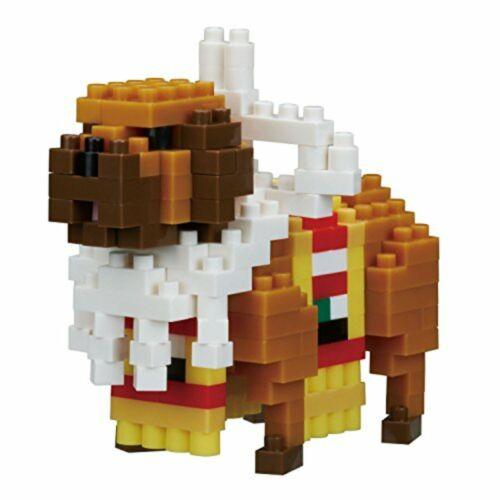 KAWADA Nano Block Chinese zodiac Dog NBC/_237 Free Shipping w//Tracking# New Japan