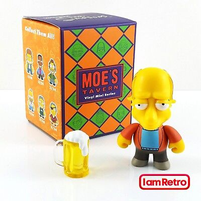 The Simpsons Moe/'s Tavern Mini Série x Kidrobot-One Factory Sealed Blind Box