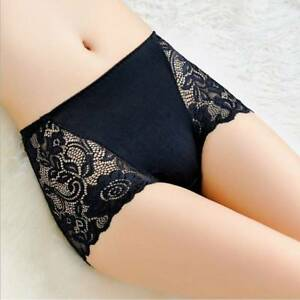 29d20a0741 Women Lady Lace Underwear Boxer Shorts High Waist Panties Briefs ...
