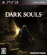 PS3 Dark Souls Japan Import Official Free Shipping SONY Play Station3 F/S