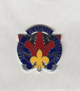 US ARMY 1st Personnel Command crest DUI badge set L/&R G-23