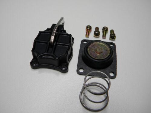 QFT Holley AED CCS 21-107BLK Aluminum  50cc Accelerator Pump Cover Quick Kit