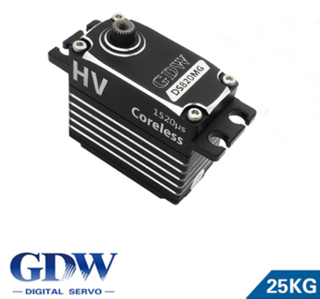 GDW DS820MG Digital Metal Gear Swashplate Servo for RC Helicopter  on