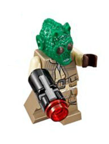 LEGO STAR WARS MINIFIGURA 75133 RODIAN MINIFIGURE TROOPERS COLLECTOR NEW