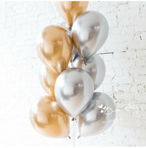 10stück Perlglanz Latex Luftballons Feier Party Hochzeit Geburtstag Deko Neu