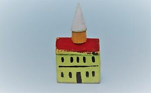 Vintage Antique DollHouse Miniature Accessory Erzgebirge Playroom Church