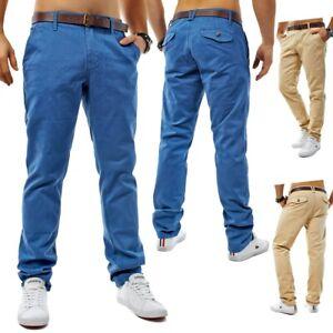 Chino-Stil-Hose-Jeans-Slim-Fit-Stretch-Chinohose-Trousers-Bluemarine