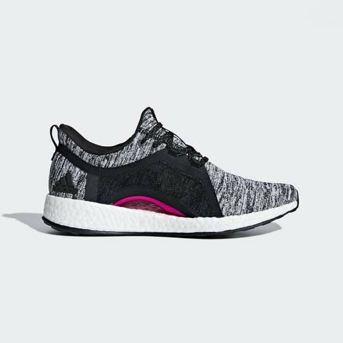 Adidas BB6544 Pureboost X Running shoes black pink sneakers