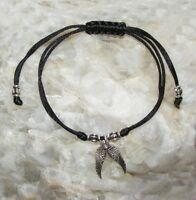 Guardian Angel Wing  Adjustable Friendship Bracelet Chinese Knot Birthday Gift