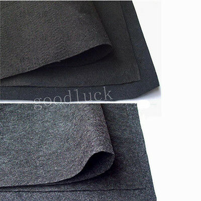 2M x 1.5M Car Cover Van Speaker Subwoofer Box Carpet Cloth Black/Gray