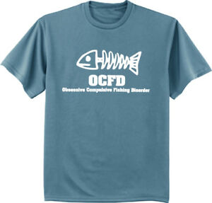 Funny Fishing Shirts For Men Ocfd Gift For Dad Fathers Day Tee Mens
