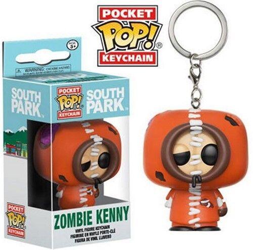 Pocket KEYCHAIN PORTACHIAVI SOUTH PARK Kenny Zombie Nuovo//Scatola Originale Funko Pop