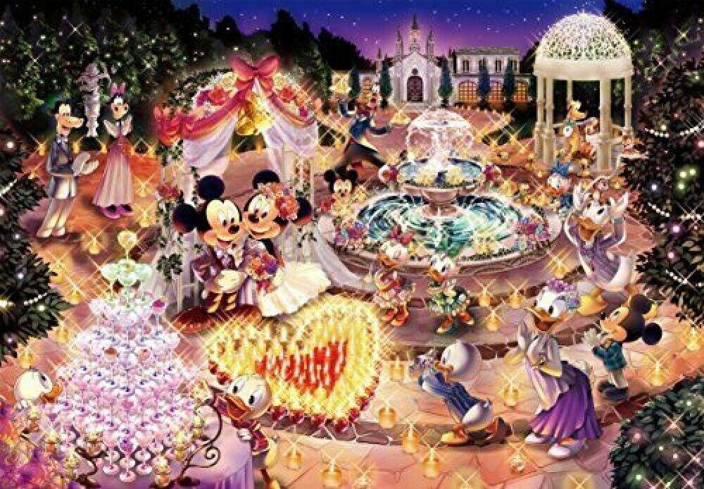 300 Piece Jigsaw Puzzle Disney Sweet Wedding Dream Tenyo Japan 30.5 x 43 cm