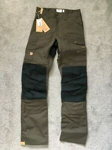 Ausverkauf großer Rabatt Fabrik authentisch Details about Fjallraven Barents pro Hydratic Trousers Waterproof Men's  Olive 48