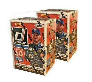 2-Box-Lot-2018-Panini-Donruss-NASCAR-Racing-Blaster-Box