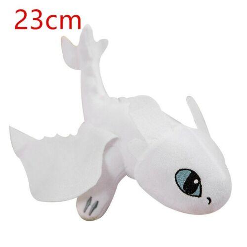 Hot 9/'/'23cm how entrenar Your Dragon Toothless Dragon Plush Night Fury Stuffed