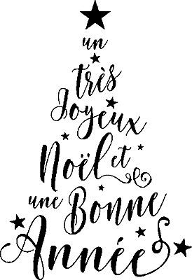 999 88 Tampon Decoratif Noel Sapin Joyeux Noel Et Bonne Annee Ebay