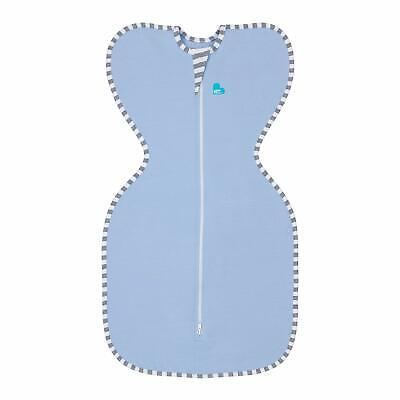 Love To Dream Swaddle UP snug fit Calms Startle Reflex Dramatically Better Sleep Small Blue Allow Baby to Sleep in Their Preferred arms up Position for self-Soothing 7-13 lbs