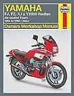 Owners' Workshop Manual: Yamaha FJ, FZ, XJ and YX600 Radian : Air-Cooled Fours 1984-1995 598cc by John G. Edwards and John Haynes (1995, Paperback)
