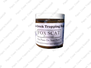 Papio Creek Fox Scat (Preserved) 8 Ounce - Coyote Attractant Fur Trapping