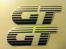 Stickers autocollants monogramme Peugeot 205 GT noir black