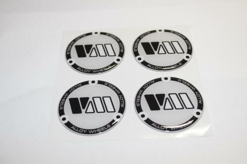 4 x60mm Silikon Emblem Felgen Aufkleber Nabendeckel Nabenkappen
