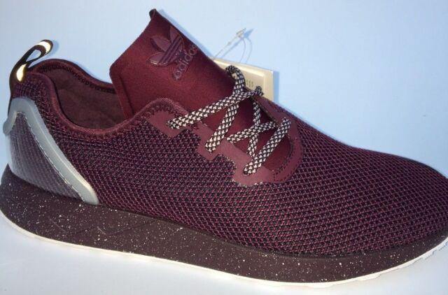 in stock sale usa online crazy price adidas Originals ZX Flux ADV Asymmetrical Shoes Men's SNEAKERS Violet  AQ6658 EUR 42 2/3
