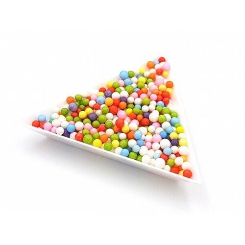 Neuf 5000 billes de polystyrène 3mm couleur multicolore