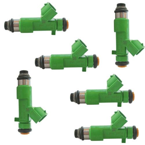 6Pcs Fuel Injector 16600-JK20A 16600JA00A For Nissan And Infiniti 3.5L V6