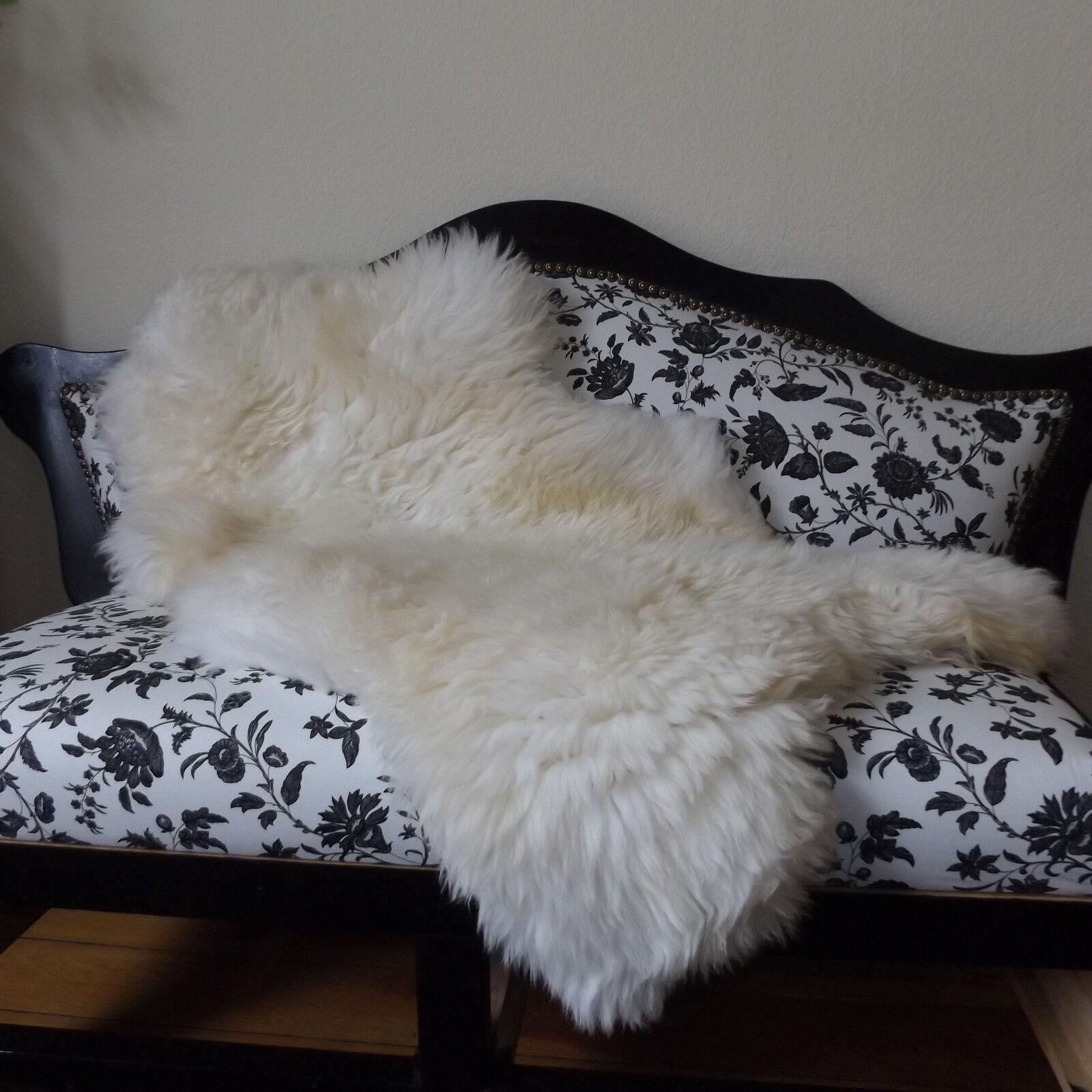 Top éco mouton peaux mouton LAINEE lammfelle peau LAINEE mouton 90cm à 155cm! 130400