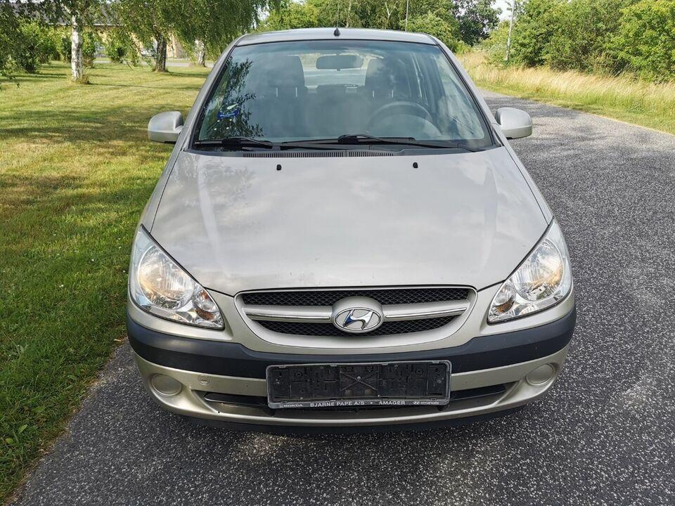Hyundai Getz 1,1 GL Benzin modelår 2008 km 116000 nysynet