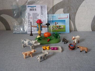 Playmobil Tränke mit Wasserpumpe grün Reiterhof Bauernhof Sammlung #284