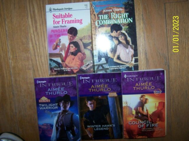 Lot 5 different Aimee Thurlo Books Soft great condition