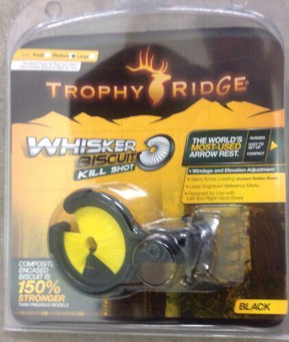 Nouveau Trophy Ridge Kill Shot Whisker Biscuit reste jaune Kill Shot