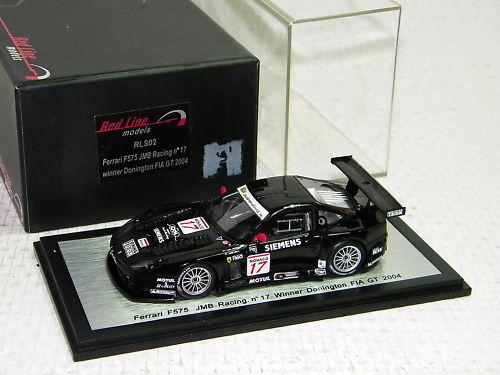 RED LINE - FERRARI F575  17 WINNER DONINGTON FIA GT 200