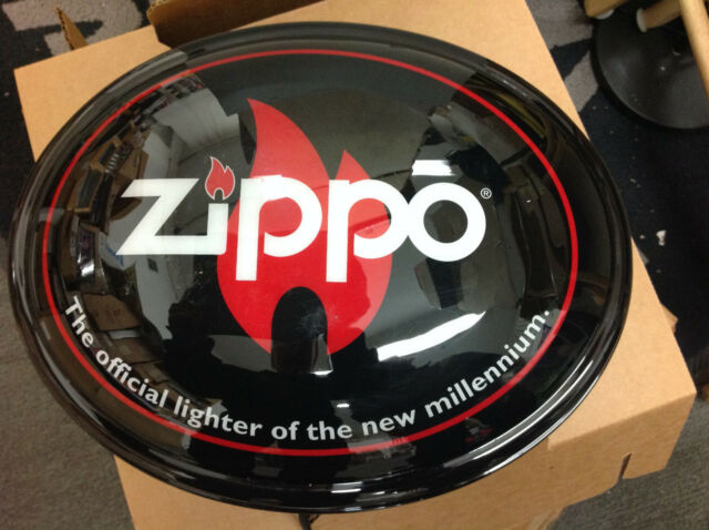 Ziippo Oval Light Signs (store stock NEW)
