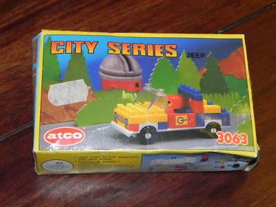 100% QualitäT Spielzeug - Atco Blocks Nr. 3063 - City Series Jeep