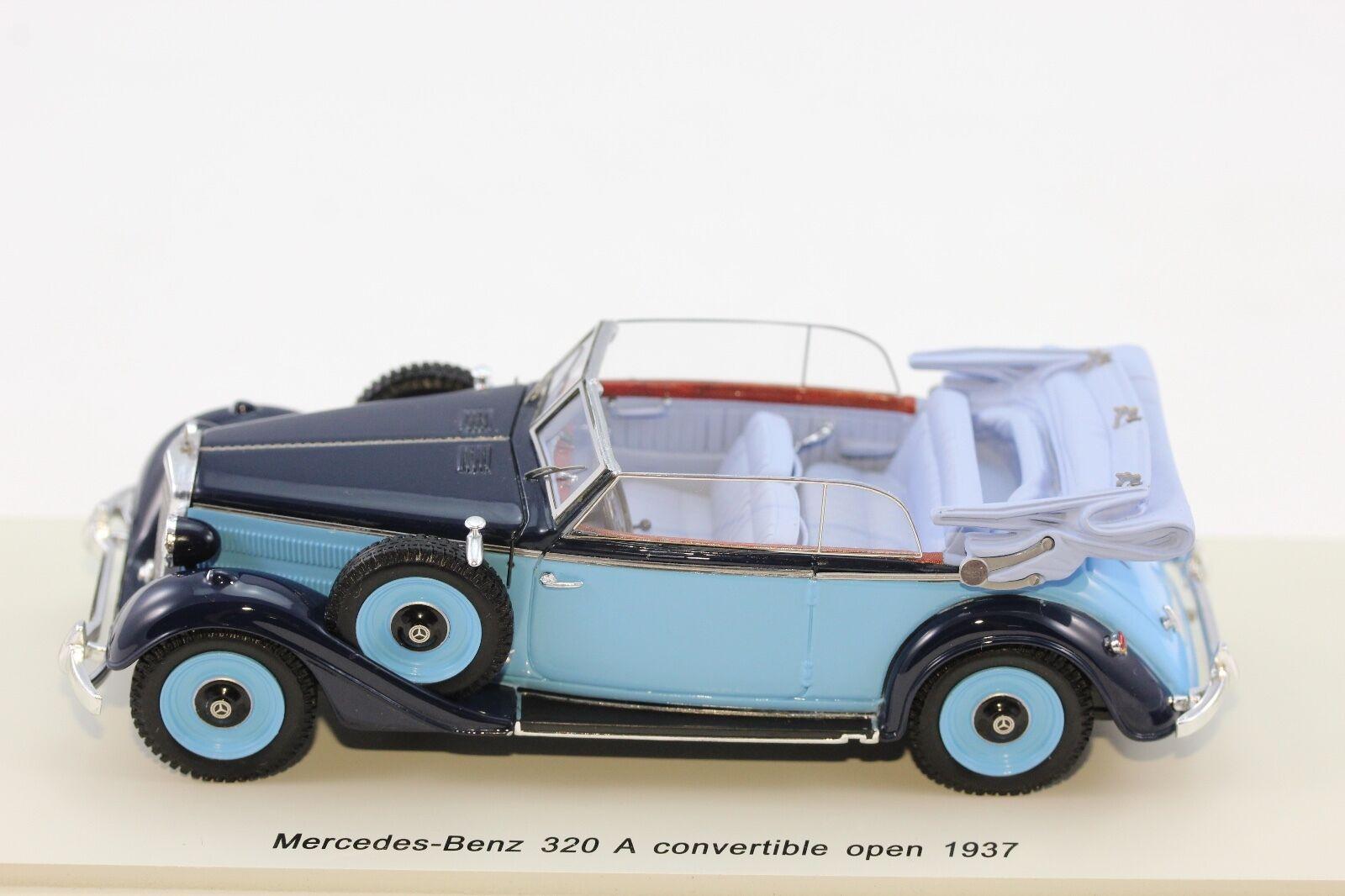SPARK Mercedes Benz 320 Cabriolet A 1937 1 43 Resin Spark s4905
