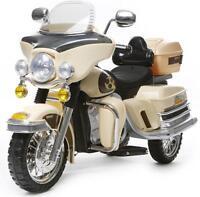 Rocket Cruiser Deluxe Police Ride On 12v Kids Battery Electric Motorbike